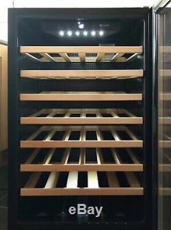 Caple WC6500 Integrated 47 Bottle In Column 600mm S/S Wine Cabinet/Cooler/Fridge