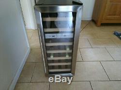Caso Germany 21 bottle wine fridge / cooler. Used but good. 80 x 50 x 34 cm
