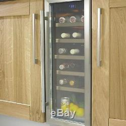 Cata WC300 Stainless steel effect 18 bottles Wine cooler no0026