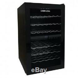 Cater-Cool CK6043 43 Bottle Single Door Commercial Dual Zone Wine Cooler