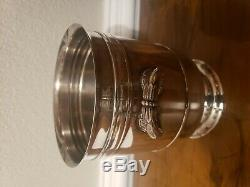 Christofle France Sully Silver Plated Champagne Wine Bottle Ice Bucket Cooler