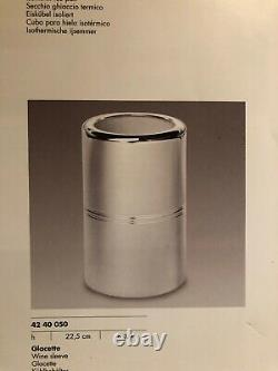 Christofle Paris Silver-plated Wine/Champagne Cooler Model Vibrations NEW