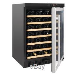 Commercial Polar Undercounter Wine Cooler Stainless Steel Door 54 Bottles Hinged