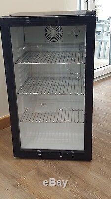 Commercial Single Door Bar Bottle Display Cooler Fridge Chiller Beer Wine