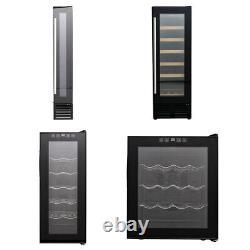 Commercial Wine Cooler Fridge Touch Screen LED Display Drinks Cabinet Chiller UK