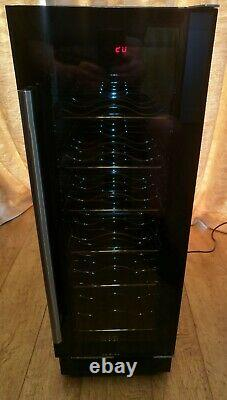 Culina UBWC300B Built In or Stand Alone Wine Cooler 18 Bottle Capacity Black