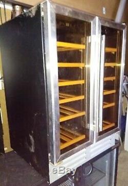 Culina UBWCTZ60SS Double Twin Door Dual Zone Temp 36 Wine Bottles Fridge Cooler