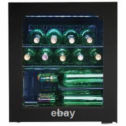 Danby DWC016KA1BDB 16 Bottle Freestanding, Wine Cooler Fridge in Black A+ Rating