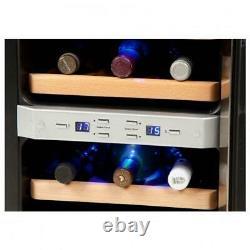 Domo Wine Cooler 12 Bottle / 2 temp zones DO909WK UK Stock & Warranty