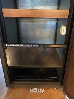 EUROCAVE WINE COOLER GOOD CONDITION Including Four Bottle Shelfs