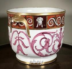 Early Coalport Wine Bottle Cooler Or Base For Ice Pail, C1810