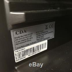 Free Standing Under Counter Wine Cooler St. Steel 30cm 20 Bottle CDA FWC303SS