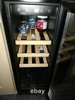 Freestanding Slimline Wine Cooler. CDA 20-Bottles