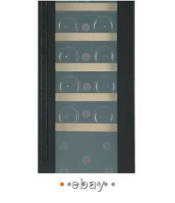 GoodHome BIWCB30UK Black 20 bottles Wine cooler New boxed