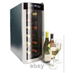 Grade A Husky Slimline CounterTop Wine Cooler HUS-HN6, 12 Bottle Capacity