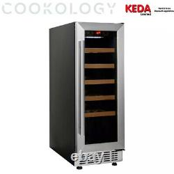 Graded Cookology CWC300SS Wine Cooler S/Steel 20Bottle 30cm Undercounter Fridge8