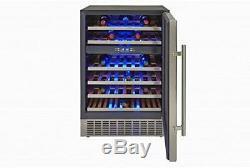 Graded Hostess 46 Bottle Built-in Wine Cabinet HW46MA Fridge Cooler Chiller