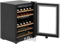 HAIER WS25GA Wine Cooler 25 Bottle Capacity Fridge Freestanding Wine Rack