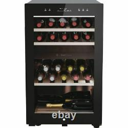 Haier HWS42GDAU1 Free Standing A Wine Cooler Fits 42 Bottles Black New from AO