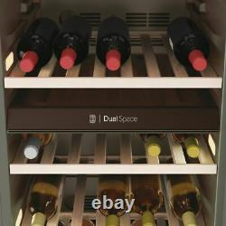 Haier HWS77GDAU1 Free Standing G Wine Cooler Fits 77 Bottles Black New from AO
