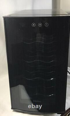 Haier Thermoelectric 8-Bottle Wine Cellar with Electronic Controls Countertop