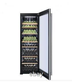 Haier WS151GDBI 151 Bottle Dual Control Wine Cooler WS151GDBI