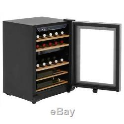 Haier WS25GA Free Standing A Wine Cooler Fits 25 Bottles Black New from AO