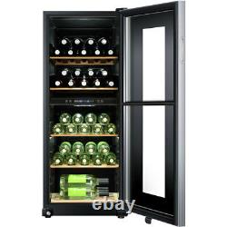 Haier WS46GDBE Free Standing B Wine Cooler Fits 46 Bottles Black New from AO