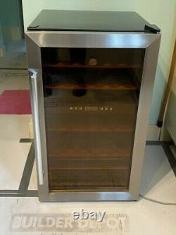 Hoover 33 Bottle Wine Cooler HWC2335X Stainless Steel