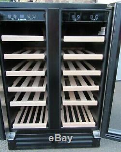 Hoover HWCB 60DUK 46 Bottle Wine Cooler unused ex display 12m G'tee RRP £599