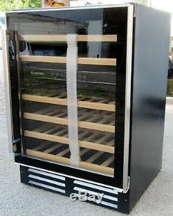 Hoover HWCB 60UK 46 Bottle Wine Cooler unused ex display 12m G'tee RRP £599