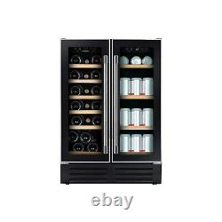 Hoover HWCB60DUK/N 60cm 46 Bottle Capacity Wine Cooler Black