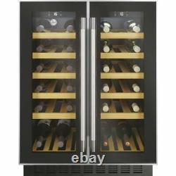 Hoover HWCB60DUK/N Built In G Wine Cooler Fits 40 Bottles Black New from AO