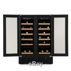 Hoover HWCB60DUK Wine Cooler Freestanding 38 Bottle 60cm Black