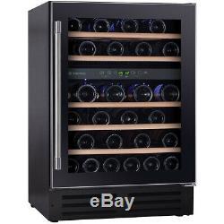 Hoover HWCB60UK Built In C Wine Cooler Fits 46 Bottles Black New from AO