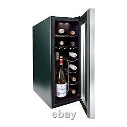 Husky HN6 12 Bottle Freestanding Under Counter Wine Cooler Single Zone 25cm HN6