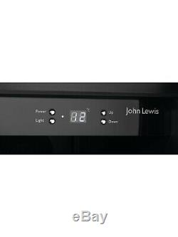 John Lewis JLWF303 300 mm Wine Cooler In S/steel 19 Bottle Rrp £429. HW173449