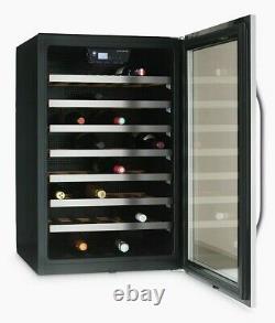 John Lewis JLWF611 46 Bottle Built in Wine Cooler in Stainless Steel FA9877