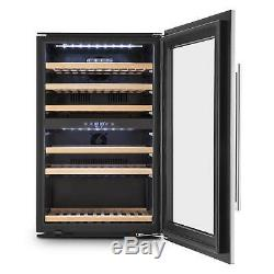 Klarstein 41 Bottles Wine Cabinet Cooler Drinks Chiller Bar Home 128 L 6 Shelves