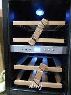 Klarstein Freestanding Stainless Steel 12 Bottle Wine Cooler Warehouse Damage