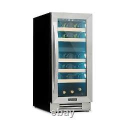 Klarstein Vinovilla 29 Built-In Wine Cooler Installation 2 Zones 74l 29 Bottles