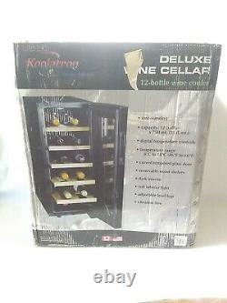 Koolatron WC12-35D 12 Bottle Thermoelectric Compact Mini Fridge Wine Cooler
