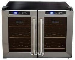 Kühlschrank Fridge QLIMA FWK1612 Energy Class D Wine Case Cooler 12 Bottles