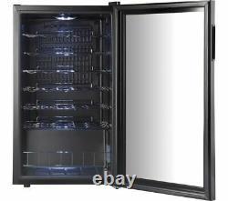 LOGIK Freestanding Wine Cooler 34 bottles Capacity LWC34B18 Black