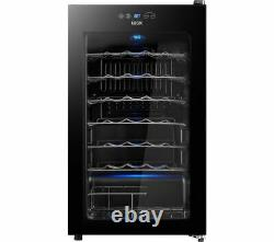LOGIK Wine Cooler 34 bottles Capacity LWC34B20 Black