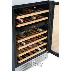 Lec 600WC MK2 46 Bottle Stainless Steel Wine Cooler (SAC-2559)