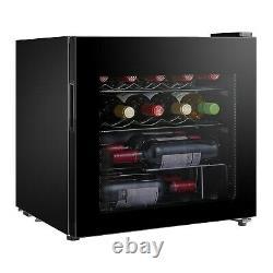 Lec DF48B 48cm 14 Bottle Compact Freestanding Wine Cooler Black