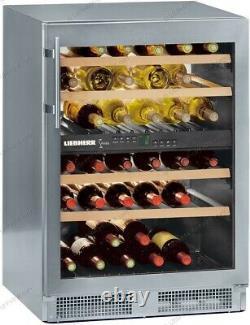 Liebherr Vinidor WTes 1753 (Stainless Steel) Wine Cooler, 40 bottle, Dual Zone