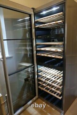 Liebherr Vinidor Wine Cooler WTES4677 Stainless Steel, Glass Door, 143 Bottle