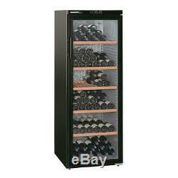 Liebherr WKB4212 200 Bottle Tall Wine Cooler Fridge Black Kitchen Appliance